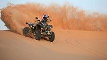 Best Dubai Desert Safari- Quad Biking & Dun Bashing & Sand Boarding with BBQ Tickets