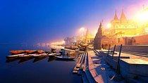 Single Traveler: 11 Days Golden Triangle & Varanasi with Luxury Accommodation, Internal flight, New...