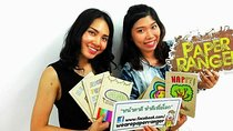 Bangkok Art Workshop: Make a Notebook from Recycled Paper, Bangkok, Craft Classes