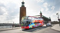 City Sightseeing Stockholm Hop-On Hop-Off Bus & Optional Boat Tour Tickets