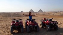 Quad Bike during sunset and sound and light show at Giza Pyramids with Dinner, Giza, Light & Sound...