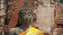 Besuch der Tempel von Ayutthaya und Bootstour ab Bangkok