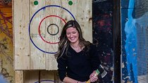 Axe Throwing at BATL - The Backyard Axe Throwing League in Hamilton, Toronto, Half-day Tours