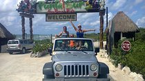 Private Jeep Excursion in Cozumel with Lunch and Snorkeling, Cozumel, Submarine Tours