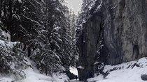 Winter Canadian Rockies Canyon Hike, Alberta, Ski & Snow