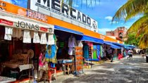 Cancun City and Shopping Tour Including El Meco Ruins, Cancun