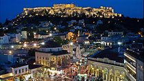 Athens at Night Small-Group Walking Tour with Dinner Tickets