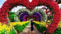 Miracle Garden and Global Village Shopping Tour Dubai Tickets