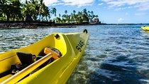 Kayak tours on a majestic isolated coastline & a tour Pu'uhonua o Honaunau Park