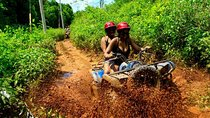 Best Atv Tour, 5 Ziplines and Cenote jump with Transportation from Cancun, Cancun