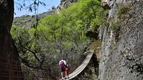 Route through the hanging bridges of Los Cahorros in Monachil, Granada