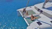 Luxury Catamaran Cruise from Athens with Traditional Greek Meal and BBQ Tickets