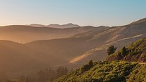 The Marin Headlands just over the Golden Gate Bridge from San Francisco, California