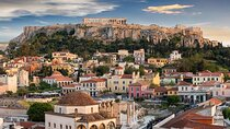 The Acropolis overlooking the city of Athens