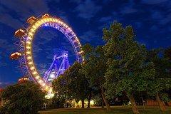 Wiener Riesenrad Giant Ferris Wheel Vienna Entrance Ticket