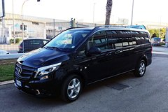 Imagen Ciampino or Fiumicino Airport Shared Van Transfer to Rome