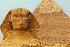 Salir de la ciudad,Excursions,Excursiones de un día,Full-day excursions,Pirámides de Gizeh,Pyramids of Giza,Museo Egipcio,Egyptian Museum,Gran Esfinge,Great Sphinx