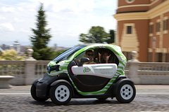 Imagen Rental for Electric Car Self-Guided Tour in Rome