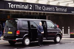 Imagen Private Airport Arrival Transfer: Heathrow Airport to Tilbury Cruise Terminal