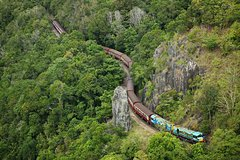 Cairns 4WD Waterfall and Rainforest Tour Including Kuranda Scenic Railway or Skyrail Rainforest Cableway