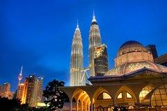 Ver la ciudad,Torres Petronas,Excursión a Cuevas de Batu,Tour por Kuala Lumpur