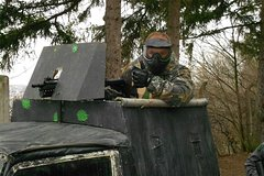 Paintball With Screenplay and Museum of Military in Lesany Including Lunch