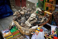 Imagen Bizarre witches and shamans tour in Gamarra Market