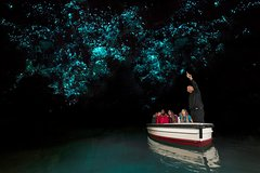 Imagen Rotorua to Auckland Transfer with Waitomo Glowworms