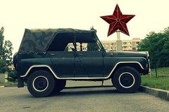 Imagen Sofia Communist Tour in Vintage Russian Vehicles