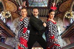 Barcelona Catalonia Flamenco Show Palau de la Música Catalana 15538P3