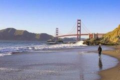 San Francisco Walking Tour: Golden Gate Bridge to Marshall Beach