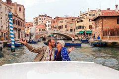 Group or Private Motorboat Cruise: Grand Canal & Basilica San Giorgio M