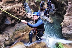 Imagen Guided Visit: Canyoning in Granada, Lentegi Canyon
