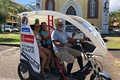 Electric Tuk-Tuk Cultural Tour of Papeete