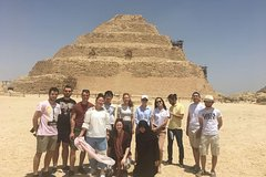 15 hours Cairo Layover Tours Visit Giza Pyramids Egyptian Museum Bazaar Sound and Light show