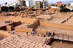 Imagen Lima City of Kings Tour and Dinner at Huaca Pucllana