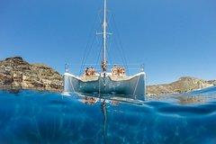 Catamaran Caldera Classic Cruise with full menu and Drinks