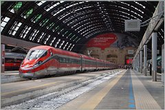 Imagen Fast Train E-Tickets from Milan to Venice, Florence, Rome, Naples, Bologna