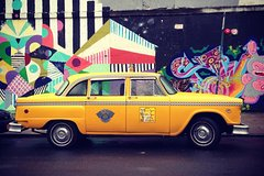 Private Manhattan Pizza Tour by Vintage NYC Taxi Cab
