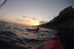 Sorrento: Kayak Tour night trip with dinner or day trip in Crapolla Cove