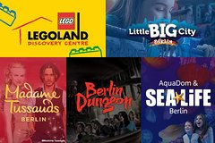 Imagen Berlin Attraction Ticket: Madame Tussauds, Dungeon, AquaDom & SEA LIFE, LEGOLAND Discovery Centre, Little Big City