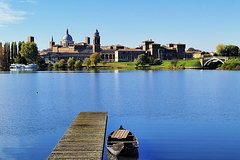 Mantova and Sigurtà from Lake Garda
