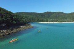 Imagen Great Keppel Island Leekes Creek Guided Kayak Tour