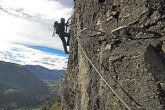 Queenstown South Island Via Ferrata Queenstown - Rock Climbing Adventure 46132P1