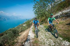 Crosscountry Bike Route to Campo from Malcesine, Lake Garda