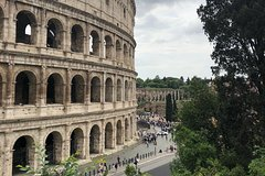 Roman Forum, Palatine, Colosseum