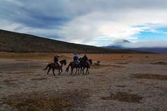 Imagen Avenue of Volcanoes Horseback Riding from Quito