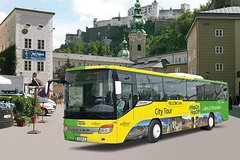 Ver la ciudad,Hop-On Hop-Off,Tour por Salzburgo