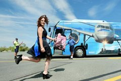 Adult Return Airport Transfer Whitsunday Coast Airport to Airlie Beach