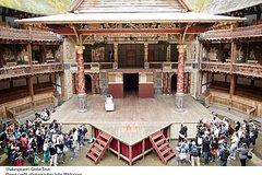Imagen Shakespeare's Globe Theatre Tour and Exhibition with Optional Afternoon Tea